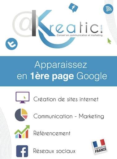 Kreatic création de sites e-commerces